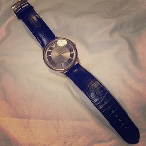 Emporia Armani Leather Band Watch
